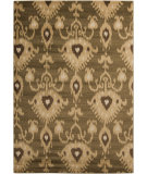 RugStudio presents Surya Riley RLY-5062 Neutral / Green Area Rug
