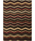 RugStudio presents Surya Riley RLY-5064 Yellow / Green / Neutral / Red Machine Woven, Better Quality Area Rug