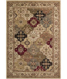 RugStudio presents Surya Riley RLY-5066 Neutral / Green / Violet (purple) Machine Woven, Better Quality Area Rug
