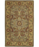 RugStudio presents Surya Raj Rst-761 Gold / Green Hand-Tufted, Good Quality Area Rug