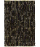 RugStudio presents Surya Scarlet SCL-1002 Charcoal/ Green Hand-Knotted, Good Quality Area Rug