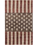 RugStudio presents Surya Scarborough Scr-5156 Burgundy Sisal/Seagrass/Jute Area Rug