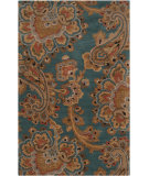 RugStudio presents Rugstudio Sample Sale 73485R Teal Hand-Tufted, Good Quality Area Rug