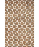 RugStudio presents Surya Seaport Set-3000 Mocha / Ivory Woven Area Rug