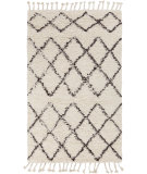 RugStudio presents Surya Sherpa Shp-8001 Ivory / Taupe Woven Area Rug