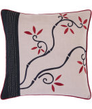RugStudio presents Surya Pillows SI-2007 Mauve/Burgundy