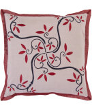RugStudio presents Surya Pillows SI-2008 Mauve/Burgundy
