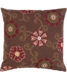 RugStudio presents Surya Pillows SI-2020 Chocolate
