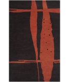 RugStudio presents Surya Signature SIG-1020 Dark Brown Hand-Tufted, Good Quality Area Rug