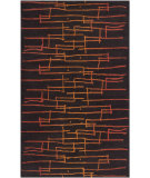 RugStudio presents Surya Signature SIG-1031 Dark Brown Hand-Tufted, Good Quality Area Rug