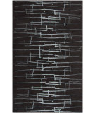 RugStudio presents Surya Signature SIG-1036 Jet Black Hand-Tufted, Good Quality Area Rug
