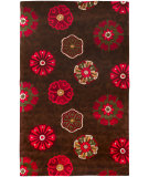RugStudio presents Surya Smithsonian SMI-2104 Burgundy Hand-Tufted, Good Quality Area Rug