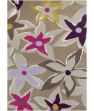 RugStudio presents Surya Sanderson Snd-4535 Magenta Hand-Tufted, Good Quality Area Rug