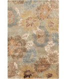 RugStudio presents Surya Synergy SNG-5000 Green / Neutral / Yellow Hand-Knotted, Good Quality Area Rug