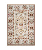 RugStudio presents Surya Sonoma SNM-9026 Silver Grey Hand-Knotted, Good Quality Area Rug