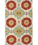 RugStudio presents Surya Storm Som-7711 Antique White Hand-Hooked Area Rug