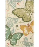 RugStudio presents Surya Storm Som-7715 Light Chartreuse Hand-Hooked Area Rug