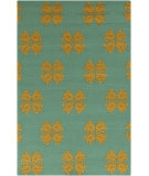 RugStudio presents Surya Storm SOM-7722 Malachite Blue Hand-Hooked Area Rug