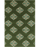 RugStudio presents Surya Storm SOM-7733 Spruce Green Hand-Hooked Area Rug