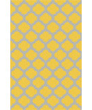 RugStudio presents Surya Storm SOM-7752 Yellow Hand-Hooked Area Rug