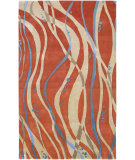 RugStudio presents Rugstudio Sample Sale 24056R Tangerine Hand-Tufted, Best Quality Area Rug