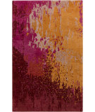 RugStudio presents Surya Serenade SRD-2000 Neutral / Red / Violet (purple) Area Rug