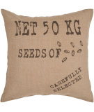 RugStudio presents Surya Pillows ST-002 Beige/Olive Sisal/Seagrass/Jute