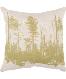 RugStudio presents Surya Pillows ST-047 Beige/Lime