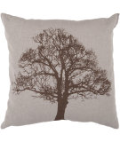 RugStudio presents Surya Pillows ST-053 Chocolate/Moss