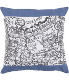 RugStudio presents Surya Pillows ST-090 Cobalt/Ivory
