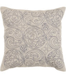 RugStudio presents Surya Pillows ST-106 Beige/Navy