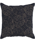 RugStudio presents Surya Pillows ST-107 Navy/Beige