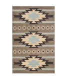 RugStudio presents Surya Santa Fe STF-4022 Dark Taupe Hand-Tufted, Good Quality Area Rug
