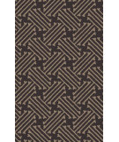 RugStudio presents Surya Stamped STM-812 Charcoal Hand-Tufted, Good Quality Area Rug