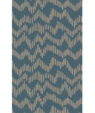 RugStudio presents Surya Stamped STM-813 Green / Blue Area Rug