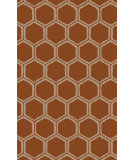 RugStudio presents Surya Stamped STM-818 Rust Hand-Tufted, Good Quality Area Rug