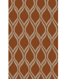 RugStudio presents Surya Stamped STM-821 Rust Hand-Tufted, Good Quality Area Rug