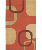 RugStudio presents Surya Stella Smith STS-9007 Orange Gold Hand-Tufted, Good Quality Area Rug