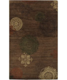 RugStudio presents Surya Surroundings SUR-1001 Raw Umber Hand-Tufted, Good Quality Area Rug