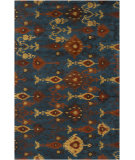 RugStudio presents Surya Surroundings SUR-1009 Teal Blue Hand-Tufted, Good Quality Area Rug