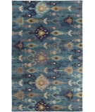 RugStudio presents Surya Surroundings Sur-1017 Teal Hand-Tufted, Good Quality Area Rug