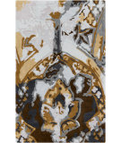RugStudio presents Surya Swank Swa-1009 Gold Hand-Tufted, Good Quality Area Rug