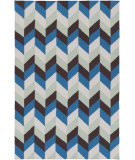 RugStudio presents Surya Talitha TAL-1003 Neutral / Blue / Green Flat-Woven Area Rug