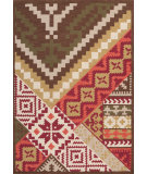 RugStudio presents Surya Tigris Tgr-5001 Burgundy Hand-Tufted, Best Quality Area Rug