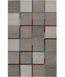 RugStudio presents Surya Theory THY-5002 Gray / Blue Hand-Tufted, Good Quality Area Rug