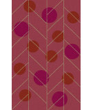 RugStudio presents Surya Theory THY-5014 Red / Pink Hand-Tufted, Good Quality Area Rug