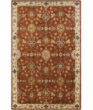 RugStudio presents Surya Tinley Tin-4000 Burgundy Hand-Tufted, Good Quality Area Rug