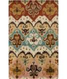 RugStudio presents Surya Tinley Tin-4004 Rust Hand-Tufted, Good Quality Area Rug