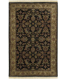 RugStudio presents Surya Taj Mahal Tj-1047 Black / Cream Hand-Knotted, Better Quality Area Rug