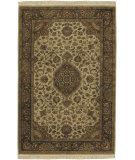 RugStudio presents Surya Taj Mahal Tj-1142 Cream / Brown Hand-Knotted, Best Quality Area Rug